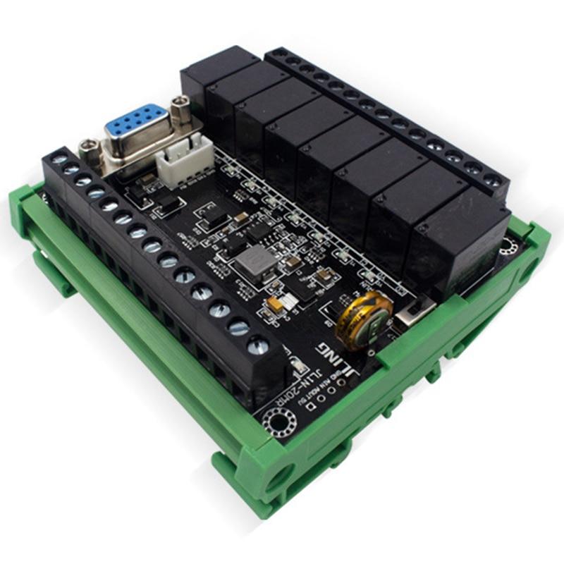 ABGN Hot-PLC Programmable Controller PLC Regulator FX1N-20MR Industrial Control Board Programmable Logic Controller