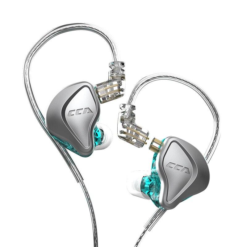 CCA NRA 1Electrostatic Drive Units+1Three Magnetic Dynamic Unit In-Ear Earphone Hybrid Wired Headset