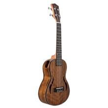 ABGZ-IRIN Concert Ukulele 23 Inch Walnoot Hout 18 Fret Akoestische Gitaar Ukelele Mahonie Toets Hals Hawaii 4 String Guitarra