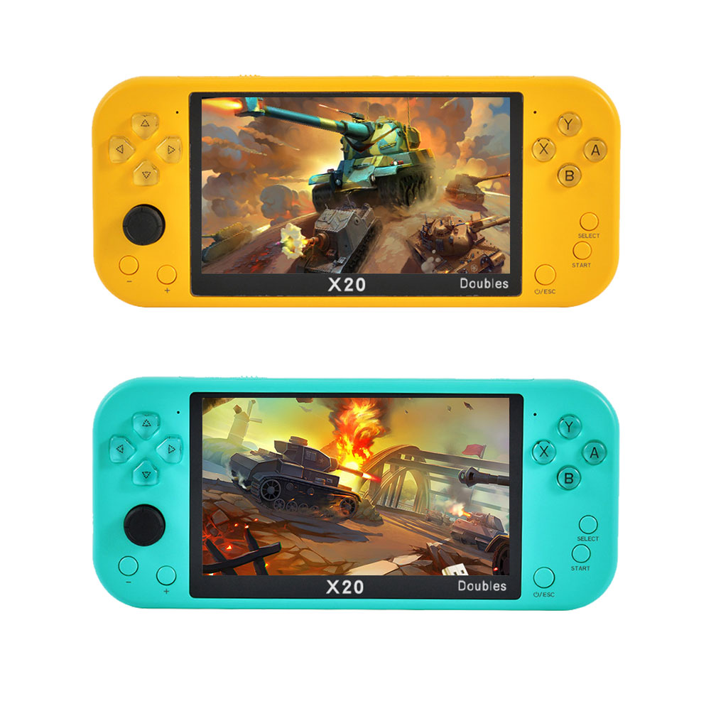1Pcs Mini TV Games Host Console Support 64G TF Card Capacity 8GB/8+32GB 2500 mAh Color Screen Gaming Host Supplies