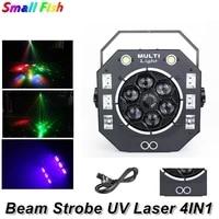 beam strobe uv laser projector 2x15w stroboscope flashlight disco lights for party light wedding ktv laser light show night club