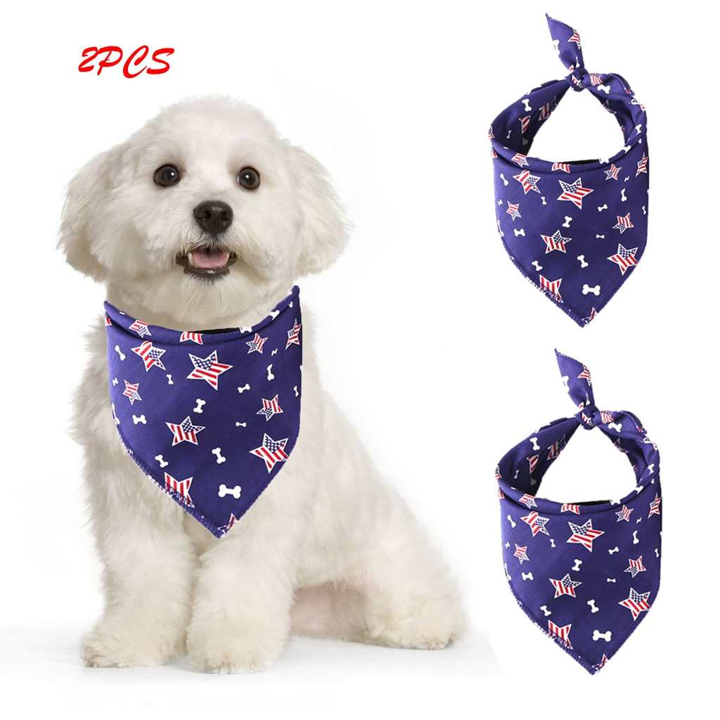 Accessoires pour chien bavoirs pour animaux salive serviette décor chapeaux pour petit chat chien 2 pièces accessoires pour petits chiens Accesorios Para Perros