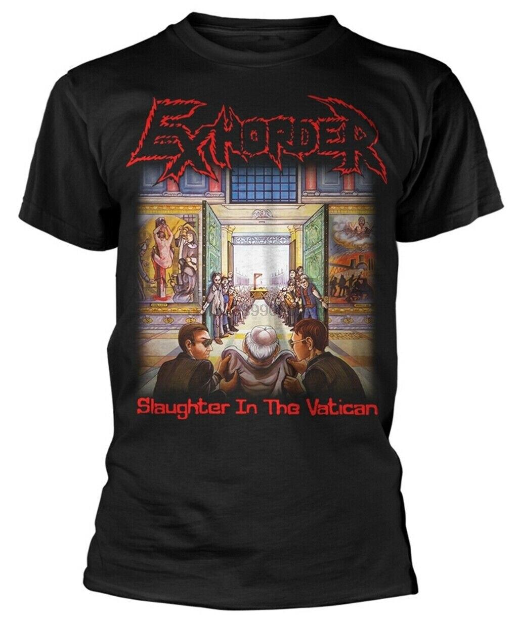 Camiseta Exhorder slaughter EN EL vatian-Nueva y oficial