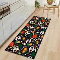 hippie kitchen mat carpet boho non slip door entrance mats floor rugs flannel carpets for living room bedroom bathroom