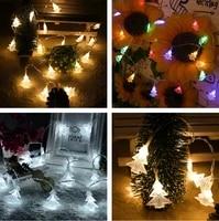 102040 new year led christmas decoration fairy light garland led garden decoration outdoor christmas lights adornos de navidad
