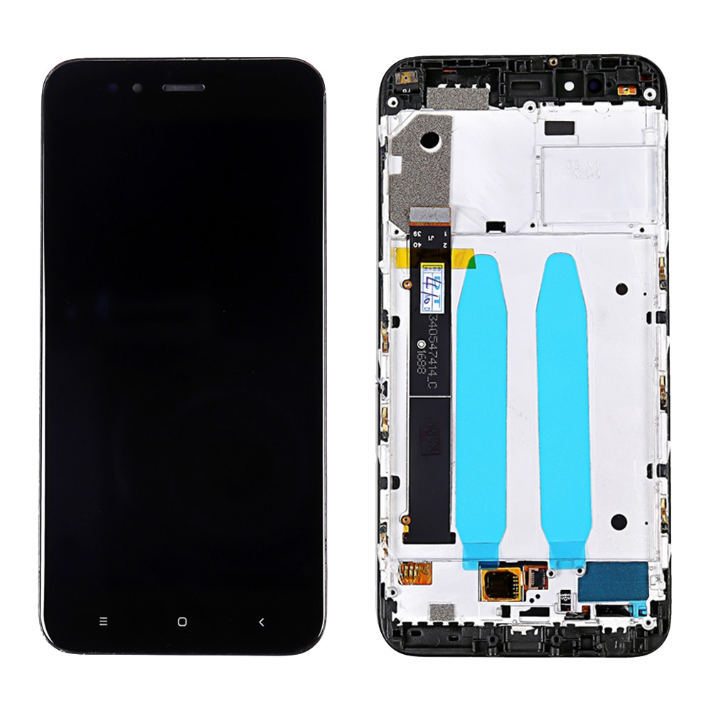 Calidad AAA +, pantalla LCD Original de 5,5 pulgadas para Xiaomi A1, Xiaomi 5X, Xiaomi Mi 5X, A1, pantalla LCD Digitalizador de pantalla táctil con marco