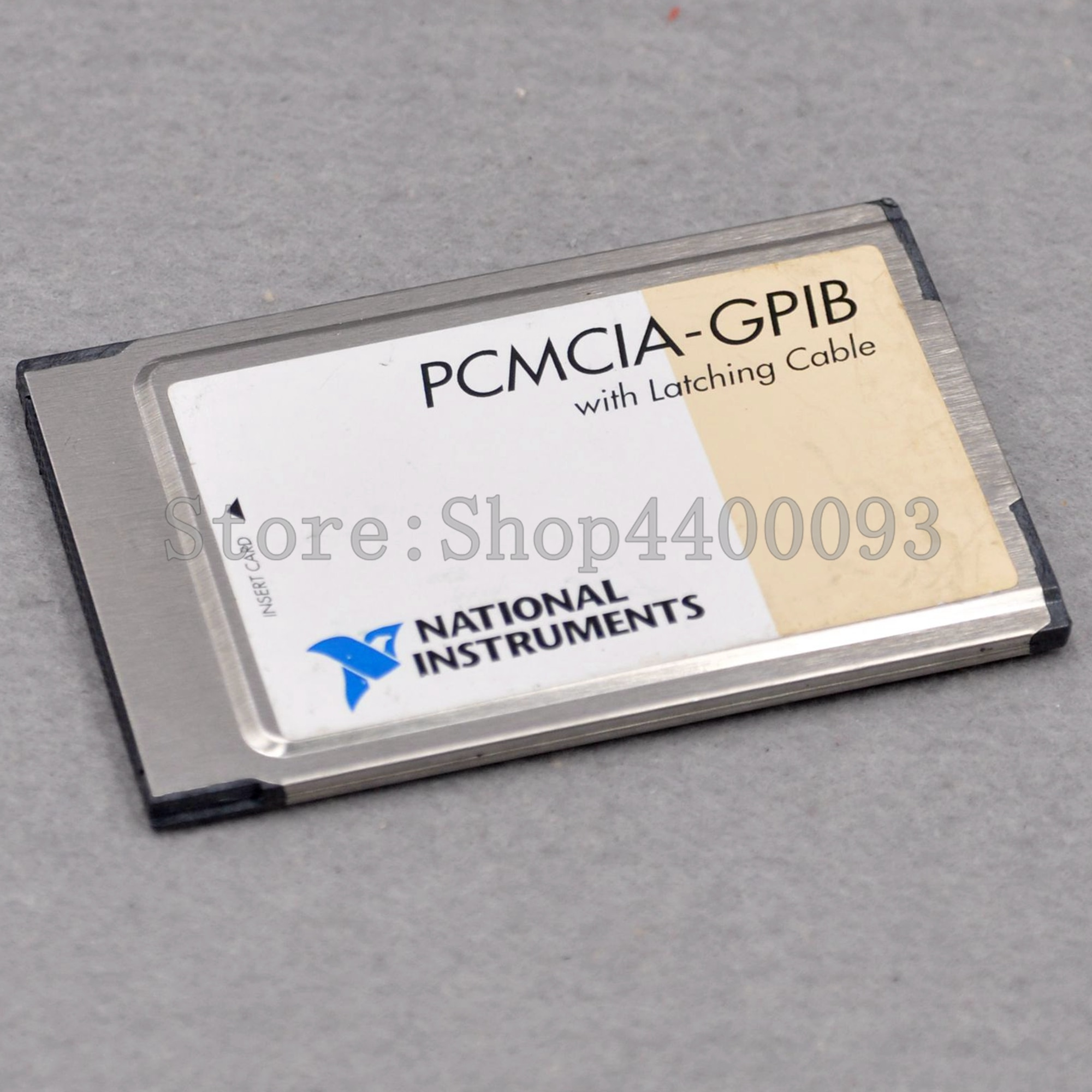 NATIONAL INSTRUMENTS PCMCIA-GPIB 186736C-01 110mA 5V IEEE488card data acquisition card