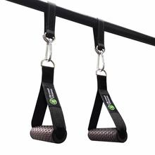 Fitness D-Ring Tricep Pull Touw Kabel Accessoires Voor Home Gym Weerstand Training Spier Workout Anti-Slip Gym handvat Bar
