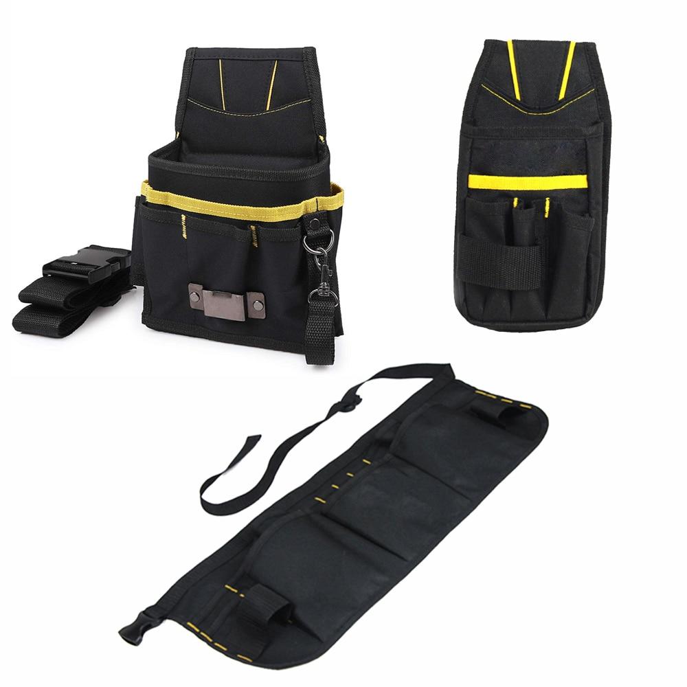 Сумка для инструментов FOSHIO для автомобильной упаковки, Водонепроницаемый скребок для мойки стекол и ремней на талию, подставка для шерсти, ...