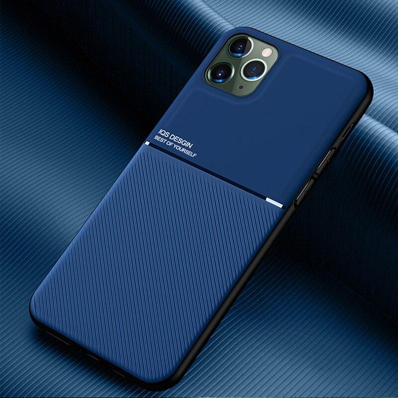 Funda de cuero a prueba de golpes para iPhone SE 2020 11 Pro Max XR X XS 7 8 10 6 S 6 S Plus 6plus 6splus, funda trasera para iPhone 11