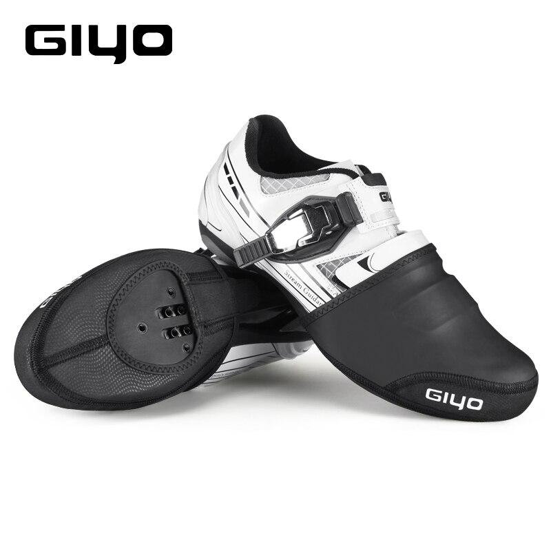 Giyo Cycling Overshoes Thermal Road Bike Shoe Cover Unisex Waterproof Toe Covers Spring Winter MTB Cycling Toe Warmer