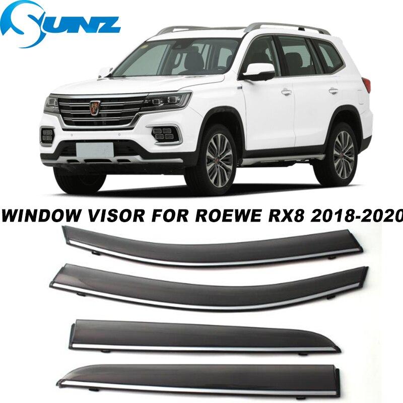 Side Window Visor For Roewe RX8 2018 2019 2020 Window Rain Guards Weathershields Sun Rain Deflector  SUNZ