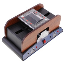 2 plate-forme automatique carte Shuffler Shuffling Machine Poker Casino équipement cadeau danniversaire