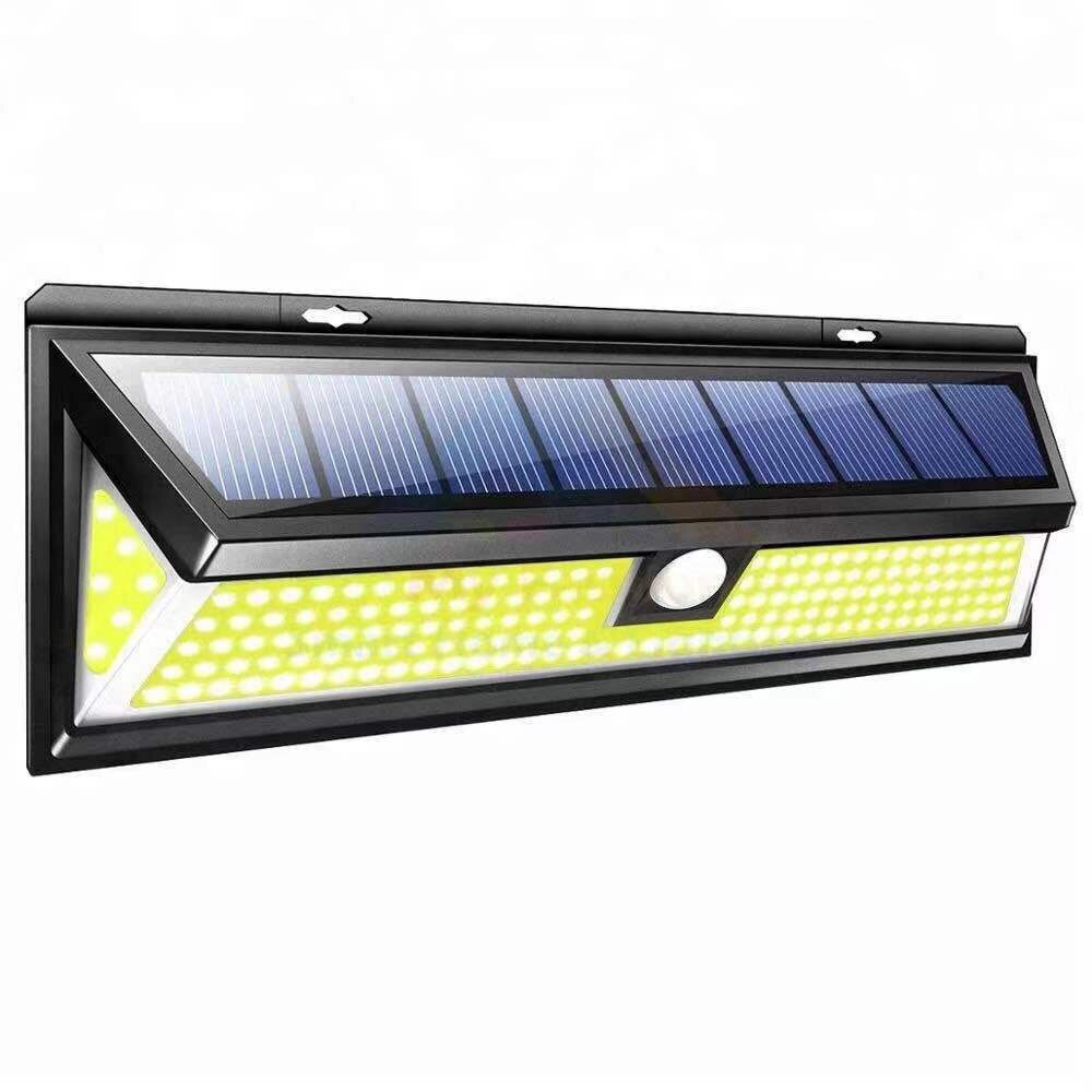 90 LED Solar Light Outdoor Solar Lamp Motion Sensor Solar Powered Spotlight 3 Modes Wall Sunlight for Street Garden F25