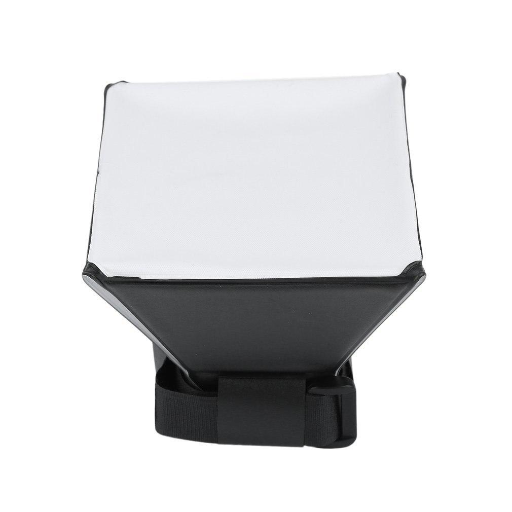 Universal foto Difusor de luz de flash Softbox Soft caja de boxeo para Sony Canon