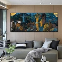 home decoration art famous paintings by paul gauguin wall art pictures canvas painting posters and prints for living room decor