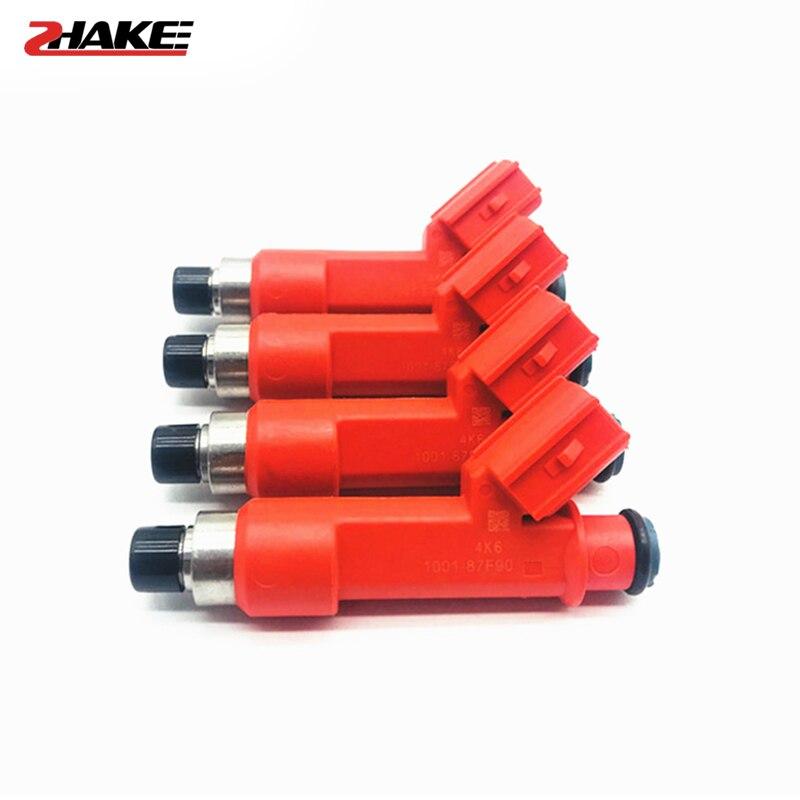 6 unids/lote 850cc inyector de combustible 1001-87F90 100187F90 1ZZFE 2ZZGE para toyo-ta 1.8L Lotus Exige Celica