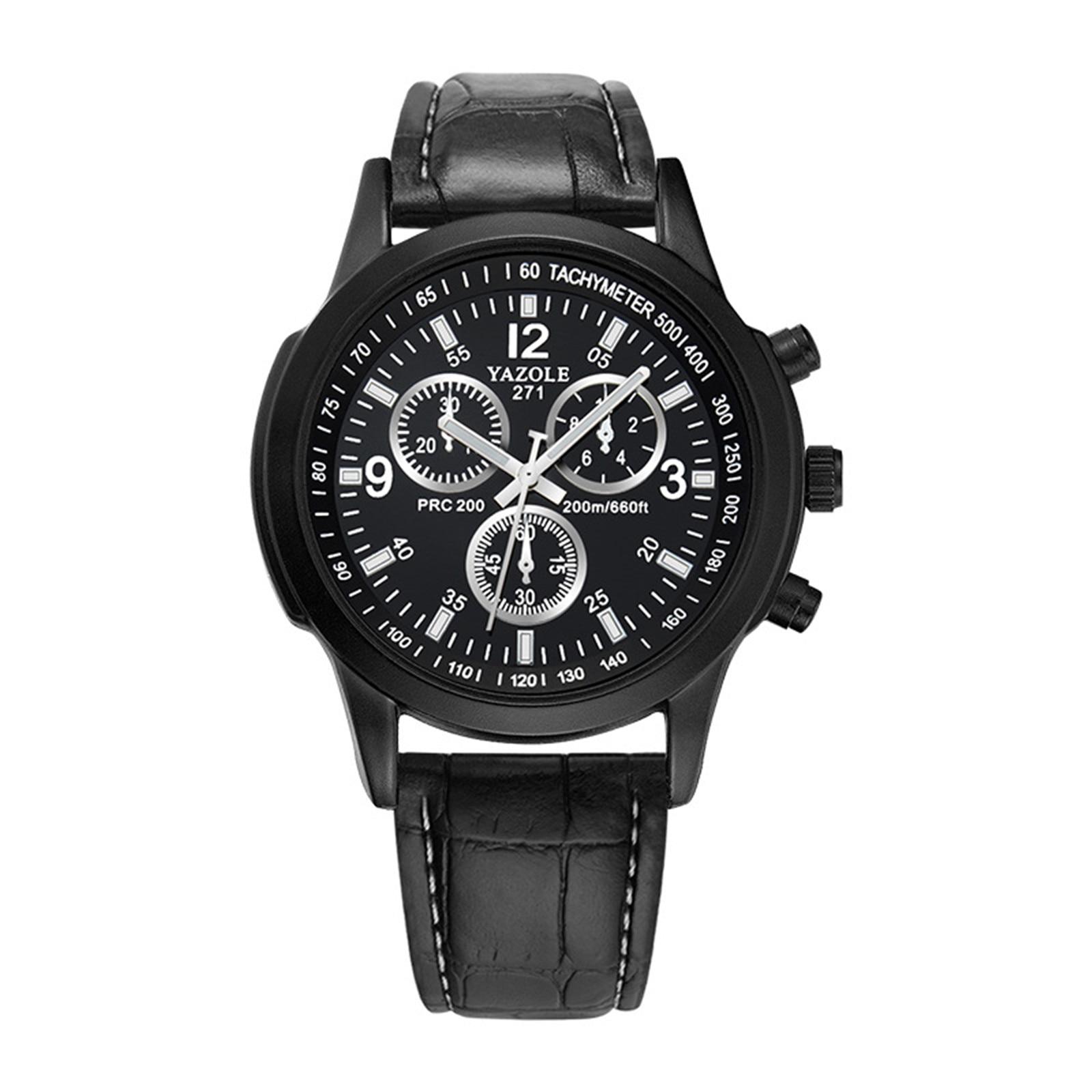 New Blu-ray Roman Numerals Watch Men Quartz Analog Wrist Watch Men's Mechanical Watch Pagani Design Quartz Wristwatches#3