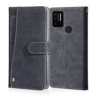 Винтажный чехол для UMIDIGI A9 A7 A5 A3 A1 S5 Pro UMI DIGI S5 Pro F2, кожаный флип-чехол с подставкой для карт, Магнитный чехол-книжка для телефона