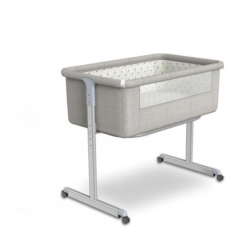 Multifunctional Newborn Baby Crib, Stitching Big Bed, Portable Infant Bassinet Bedside Sleeper