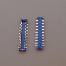 10 шт./лот для SAMSUNG G7102 G7106 G7109 G7105 G7108V G530 FPC коннектор, ЖК дисплей, экран на материнской плате 34pin