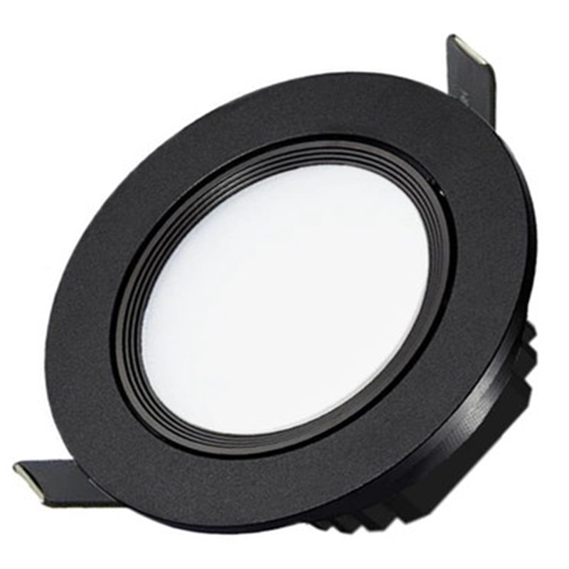 10X Dimmbare Nebel Schwarz LED COB LED Spot Licht Downlight 5W 7W 9W 12W 85- 265 einbau-downlight einbau indoor downlight