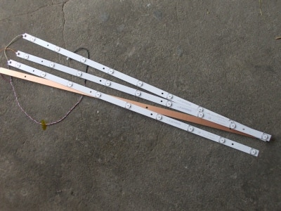 LED Backlight strip 9 Lamp For P hilips 40