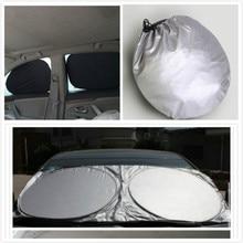 6 pièces voiture fenêtre parasol pare-brise pare-brise couverture anti-uv autocollant pour Kia Ceed Rio 3 4 Sportage Cerato Sorento Optima Picanto