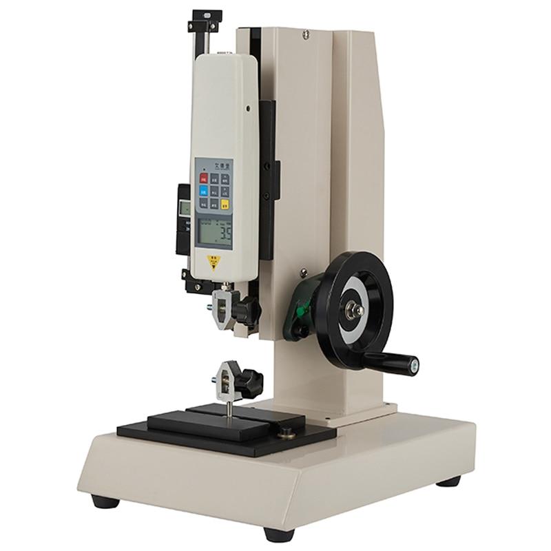 مقياس قوة الدفع والسحب الرقمي HLD ، جهاز اختبار الضغط العالمي ، مقعد اختبار ، إطار لولبي يدوي 500N