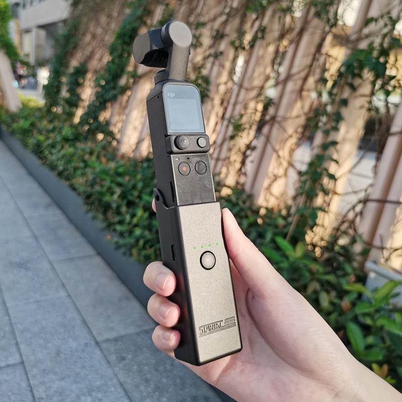 Pocket 2-شاحن بطارية محمول ، شاحن بطارية محمول ، محور لـ DJI OSMO Pocket 2 ، ملحقات الكاميرا