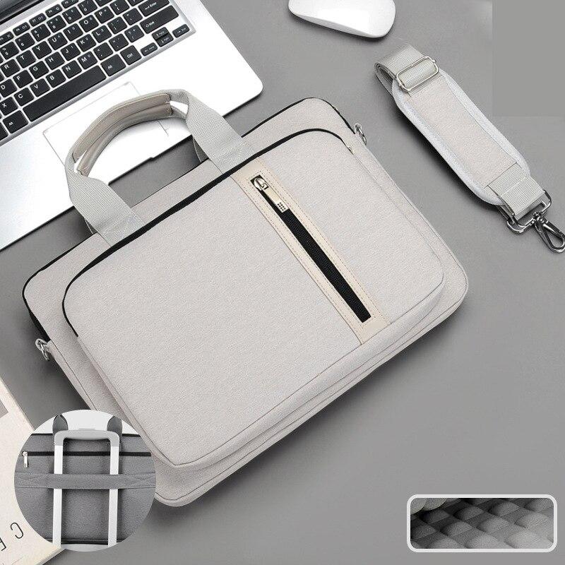 حقيبة كمبيوتر محمول 13.3 14 15.6 17.3 بوصة الحال بالنسبة ل HP ماك بوك اير برو 13 15 17 الكمبيوتر الكتف حقيبة كمبيوتر محمول مقاوم للماء حقيبة حقيبة