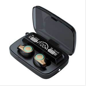 Newest  Wireless Headphones Bluetooth Earphones LED Display Sports Waterproof Earbuds HiFi Stereo Headset With Microphones