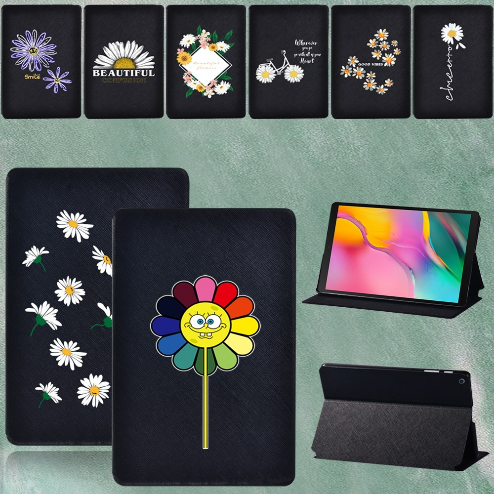 Case for Samsung Galaxy Tab A T290 T295 2019  8.0 Inch PU Leather Tablets Sturdy Protective Cover + Free Stylus