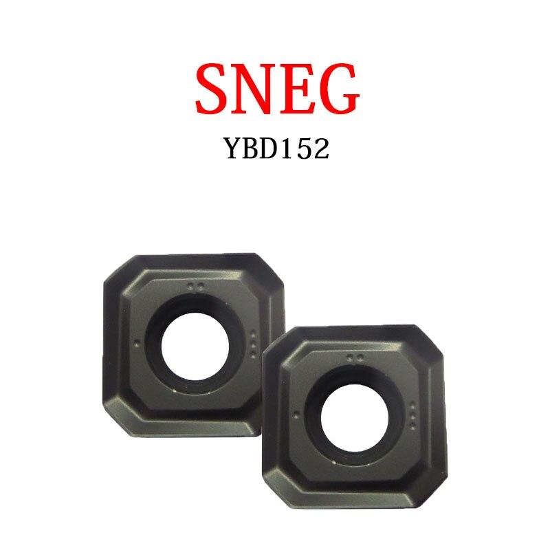 SNEG snel12 مربع طحن شفرات 1205ANR SNEG1205ANR SNEG1506ANR -GM -GR YBD152 التصنيع باستخدام الحاسب الآلي قاطعة المطحنة كربيد عدة المخرطة إدراج