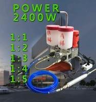 2400w high pressure waterproofing repair machine epoxy injection pump