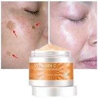 vitamin c whitening face cream hyaluronic acid remove dark spots melanin repair fade freckle cream anti aging brighten tone skin