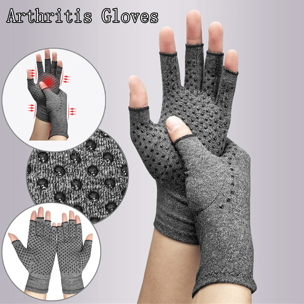 Compression Arthritis Gloves Wrist Support Cotton Joint Pain Relief Hand Brace Women Men Therapy Wristband Compression Gloves