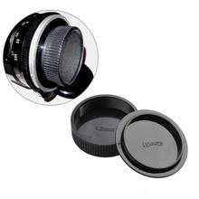 1PC 42mm Plastic Front&Rear Cap Cover For M42 Digital Black Lens Camera and Body Rear Cap Cap H5J3