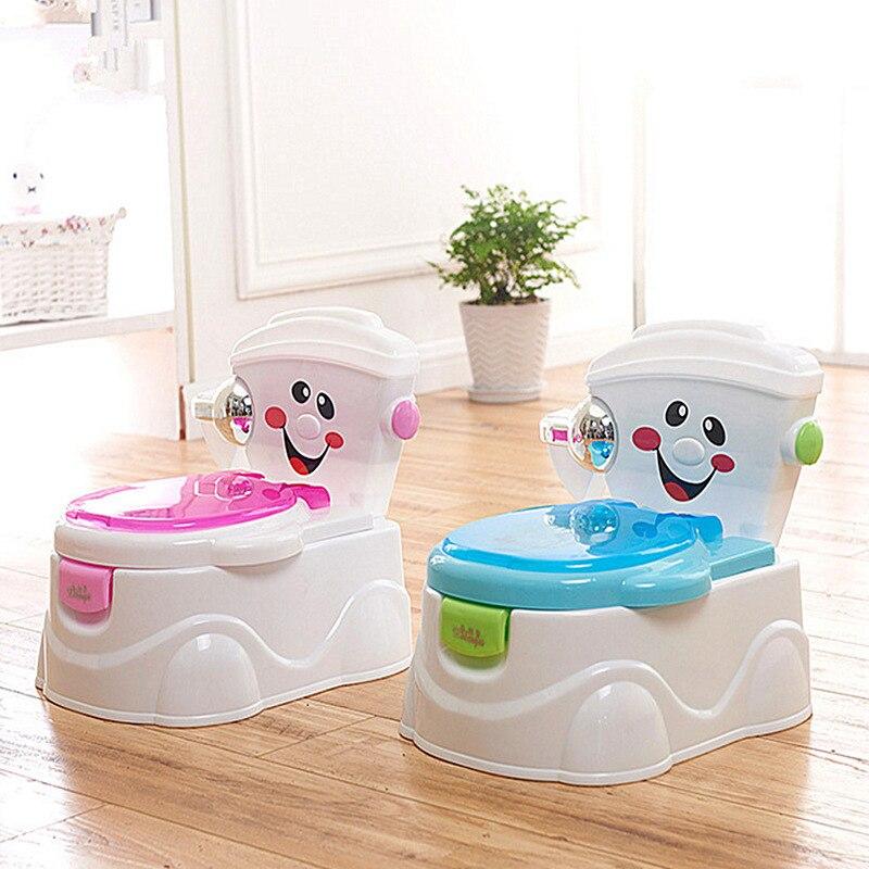 Portable Baby Potty Baby Toilet Cartoon Cars Potty Child Potty Training Girls Boy Potty Chair Toilet Seat Children's Pot Kids WC