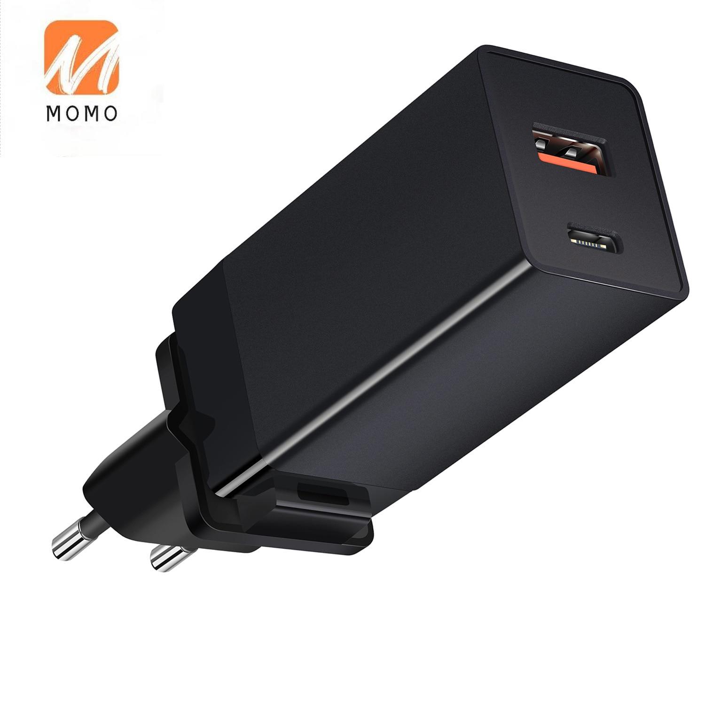 Зарядное устройство для ноутбука gan зарядное устройство GaN Быстрая зарядка Складная вилка настенное зарядное устройство адаптер