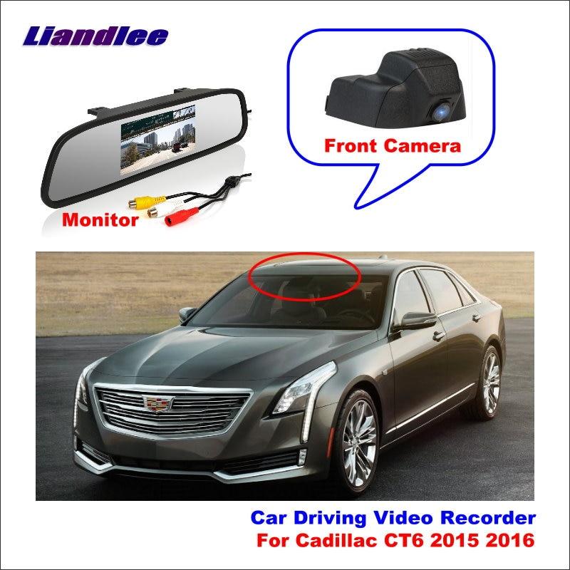 Car DVR Video Recorder Dash Cam Camera For Cadillac CT6 CT6-V 2016 2017 2018 2019 2020 Cam Front Camera HD Wifi Night Vision