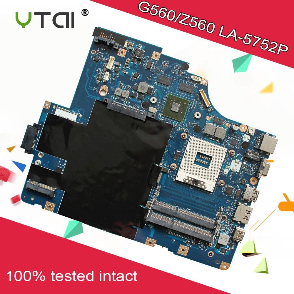 Para Lenovo G560 Z560 Laptop Motherboard NIWE2 LA-5752P REV1.0 GT310M DDR3 HM55 100% fullyTested