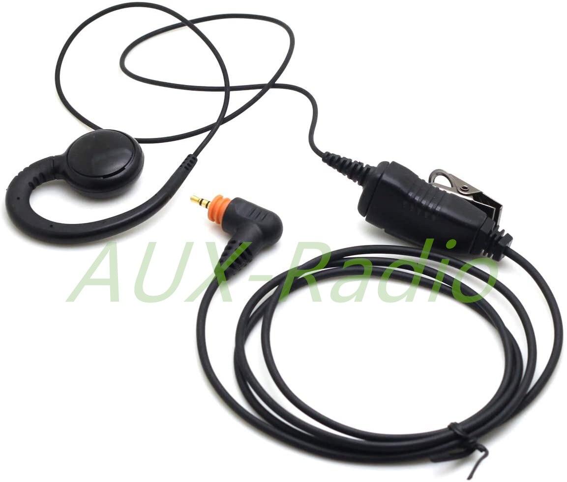 Walkie Talkie PMLN5958 Headset with Mic Ptt G Shape earpiece for Motorola SL300 SL7550 7580 7590 SL4000 SL1K SL2M SL805
