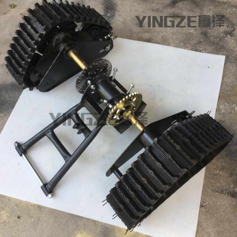 Kart Karting UTV Buggy Quad 71CM de eje trasero ATV nieve arena pistas con basculante tenedores