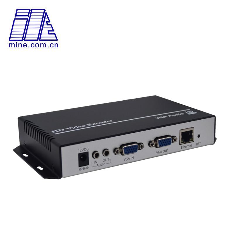H.265 vídeo codificador vga para onvif mais vga loop através 1080p60fps vga hd codificador