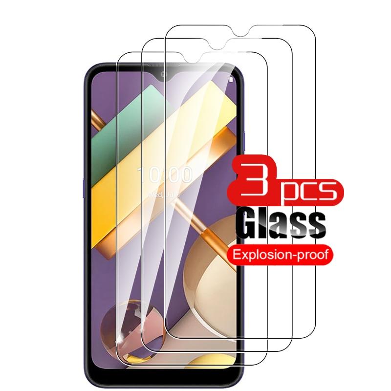 3pcs glass for lg k22 screen protect film forlg k42 k52 lyg k61 q52 k 61 61 safety tempered protective glass film