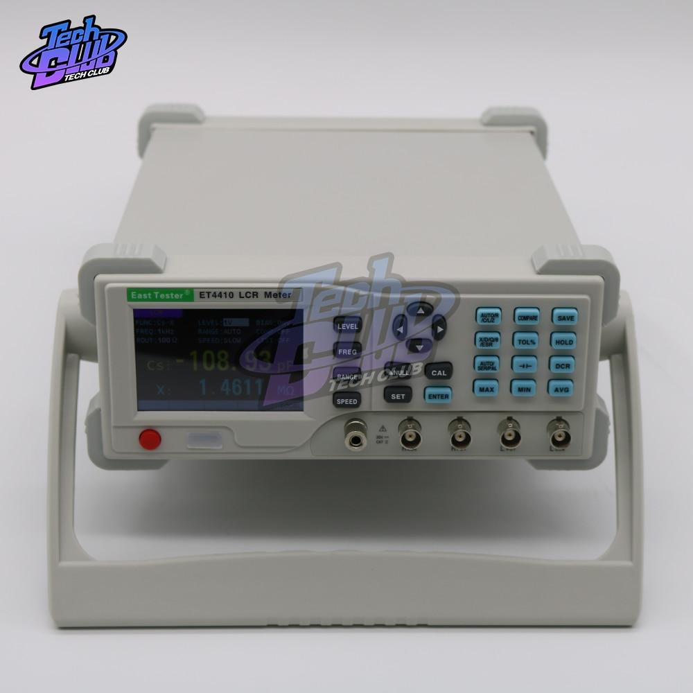 ET4401/ET4410 جسر كهربائي مقاومة مقاومة السعة الحث قياس أداة سطح المكتب الرقمية مقياس قدرة دائرة التوالي