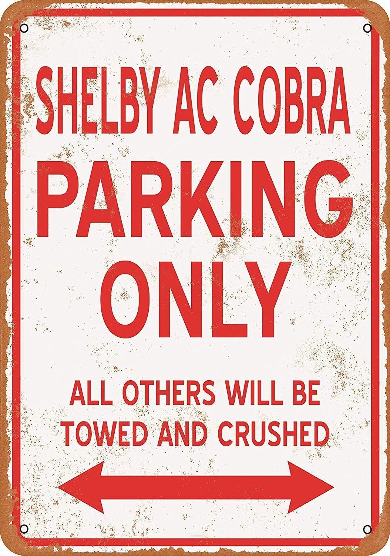 TiuKiu-placa de Metal Vintage para aparcar coche, accesorio de Arte de la...