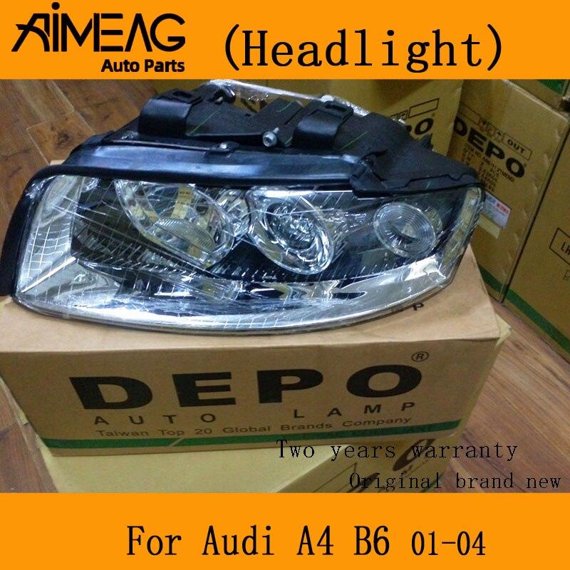 Made for Audi A4(B6) 2001-2004 xenon headlights