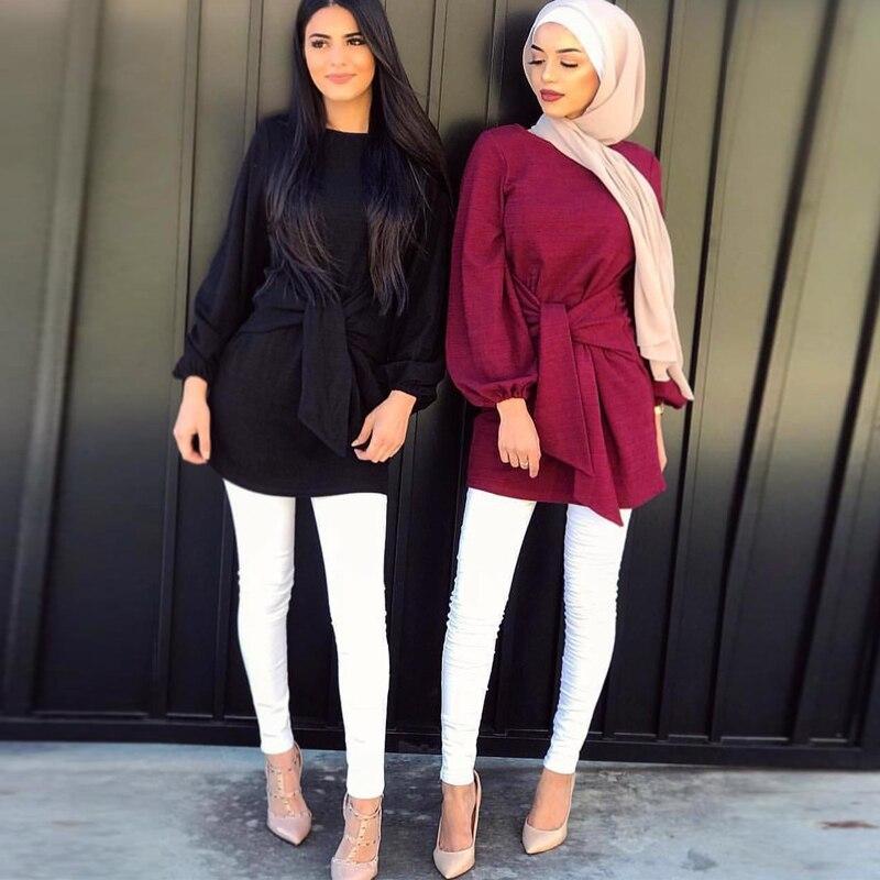 Длинные женские топы из Турции, абайя, мусульманская блузка, одежда, топ из Индонезии, Арабская Женская одежда, мусульманская одежда